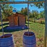 Biodynamic winery Chacra in Argentina