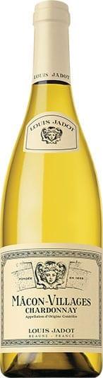 Louis Jadot Macon Villages Chardonnay white wine bottle from Burgundy, France