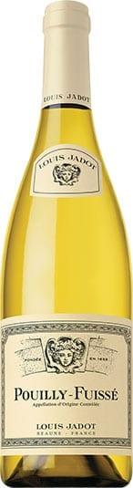 Louis Jadot Pouilly Fuisse chardonnay white wine from Burgundy, France wine bottle