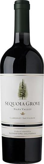Sequoia Grove Cabernet Sauvignon red wine bottle from Napa Valley California