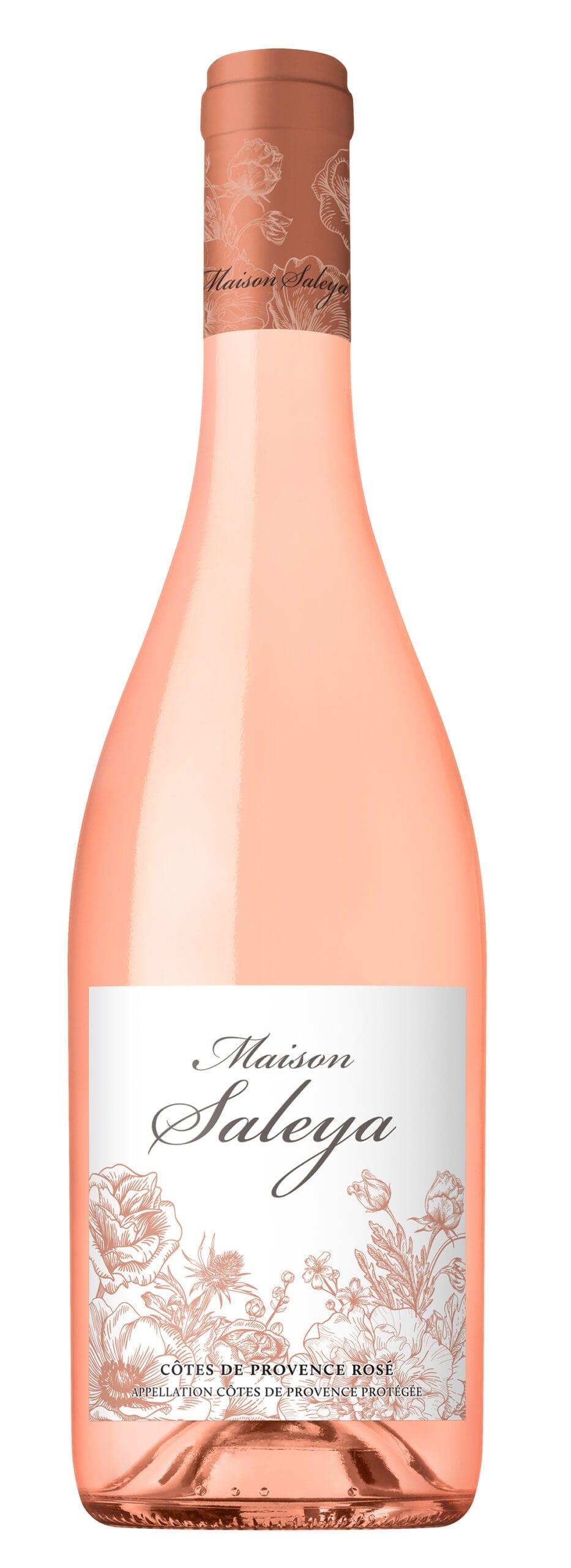 wine bottle, Maison Saleya Provence Rose