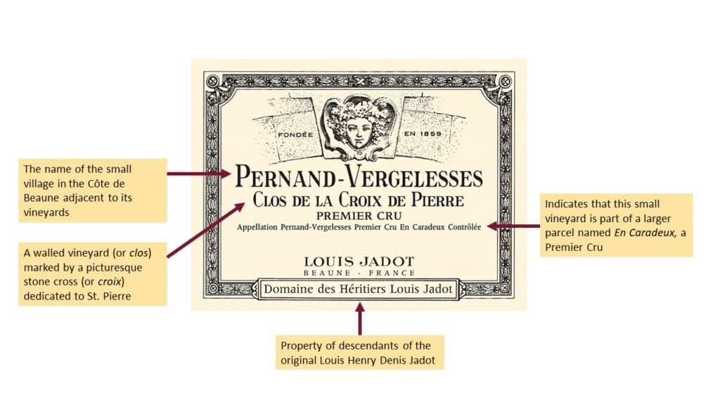 Louis Jadot label