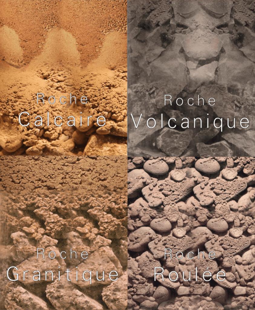 Soil types in Alsace