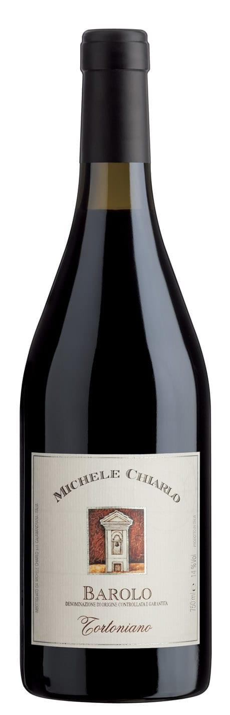 Red wine, bottle image, Michele Chiarlo Barolo DOCG Tortoniano, Italian wine, Nebbiolo
