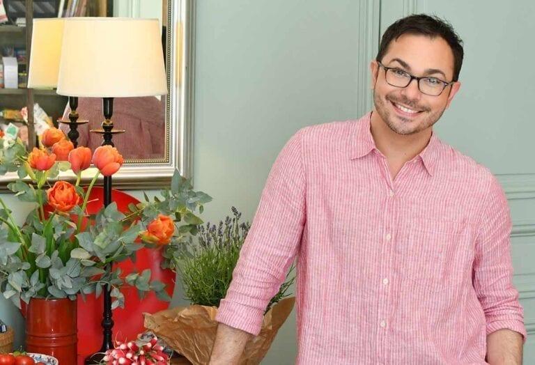 Home entertaining expert Marc Sievers