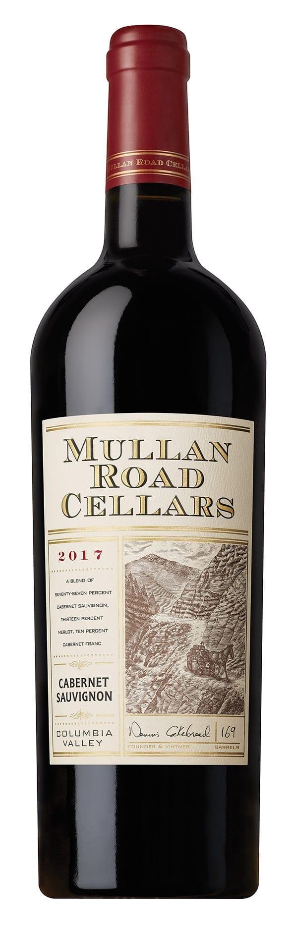 Mullan Road, 2017, Red wine, American red blend