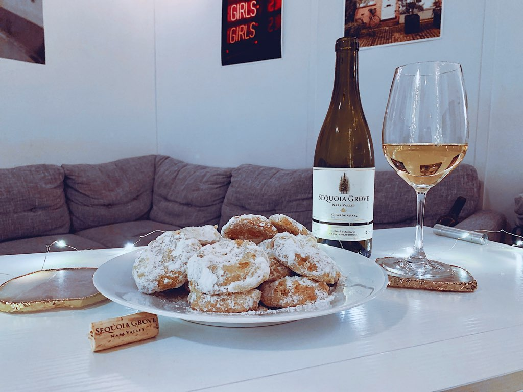Sequoia Grove, Mexican Wedding Cookie, Cookie and wine pairing
