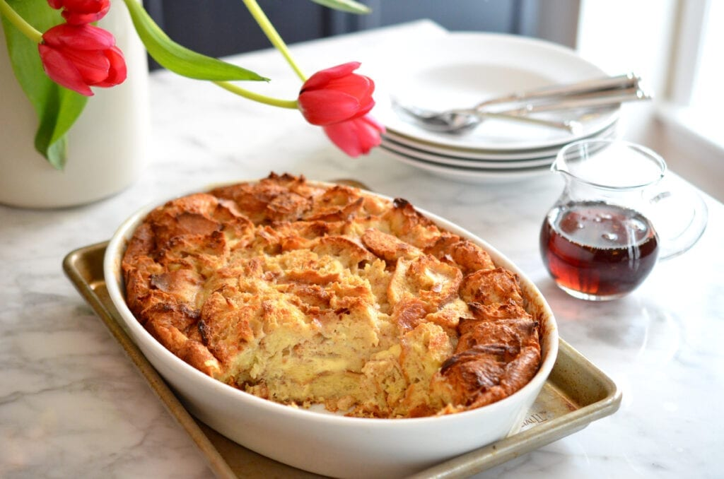 Valentine's Day - Marc Sievers - Triple French Bread Pudding