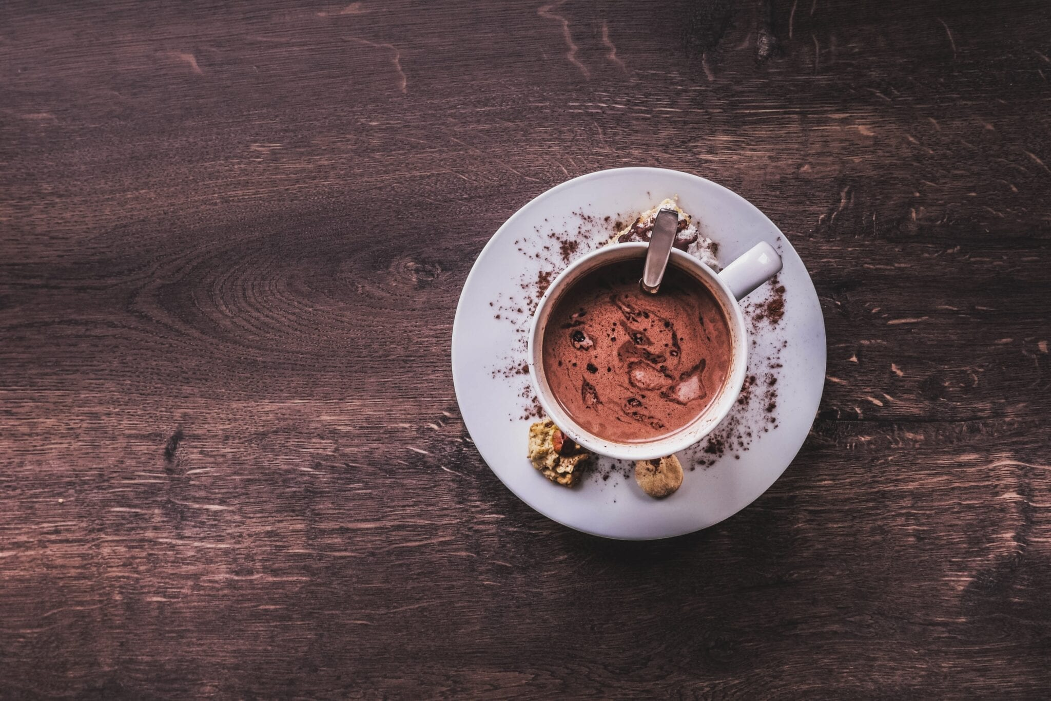 Hot chocolate. Photo by Jonny Caspari, Unsplash