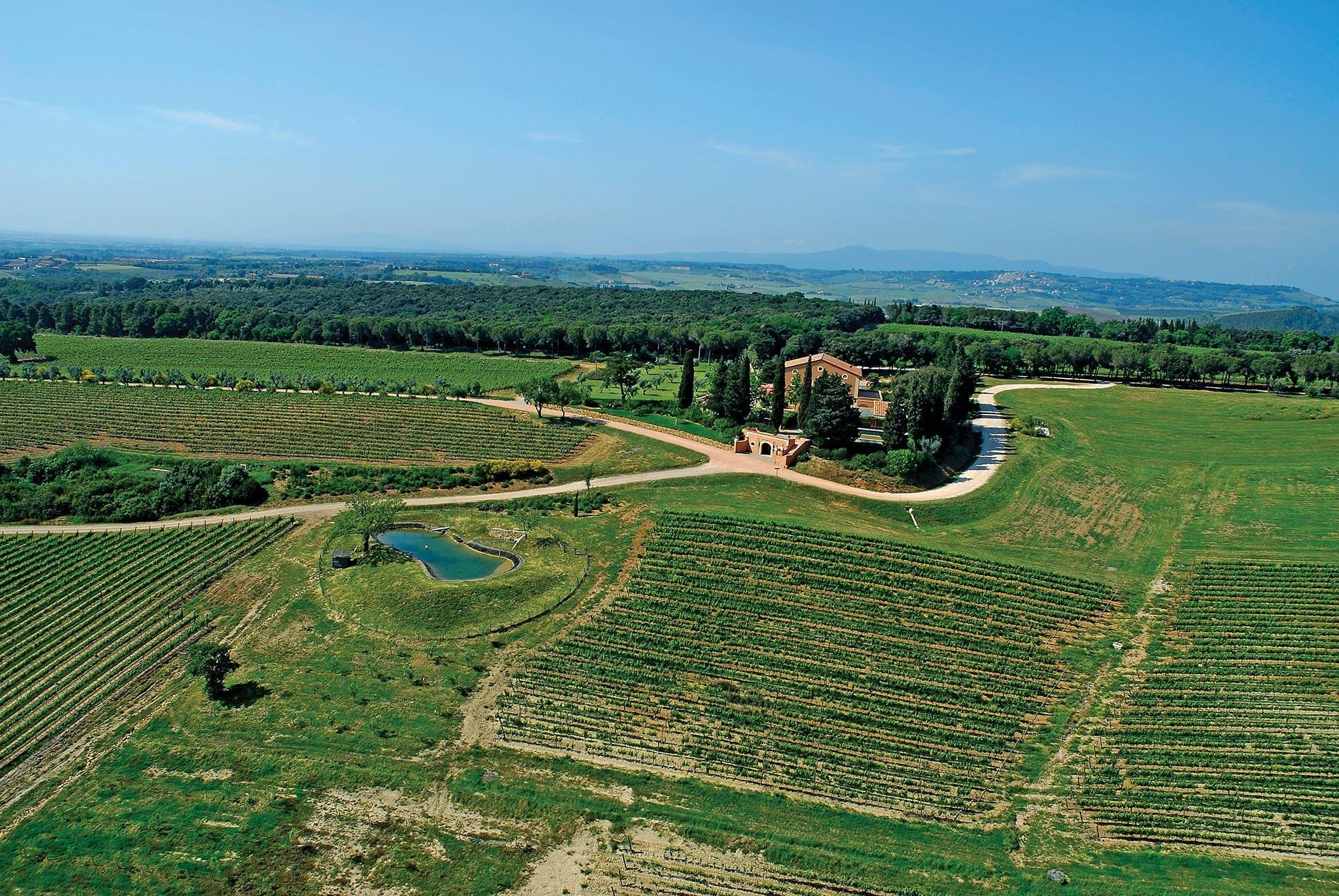 Tenuta di Biserno, Maremma, Italy, winery, Tuscany