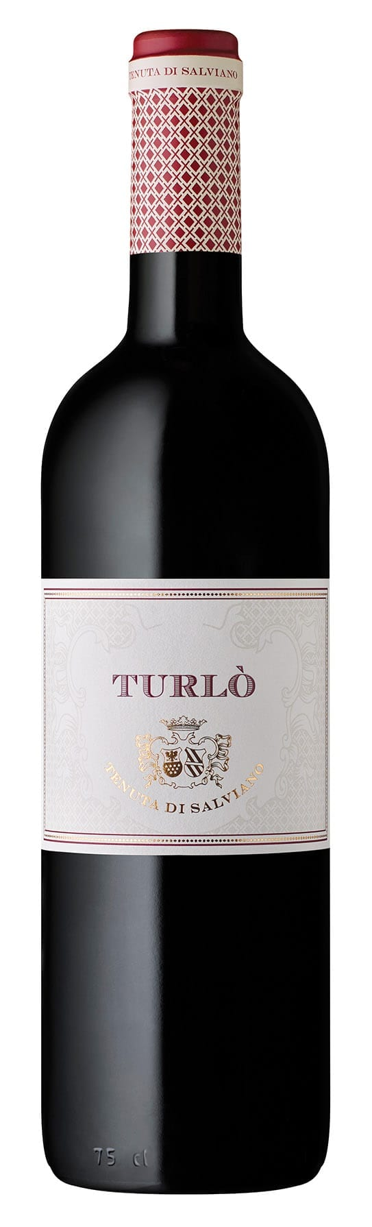 Italian wine bottle, red wine, Turlo, Salviano, Umbria