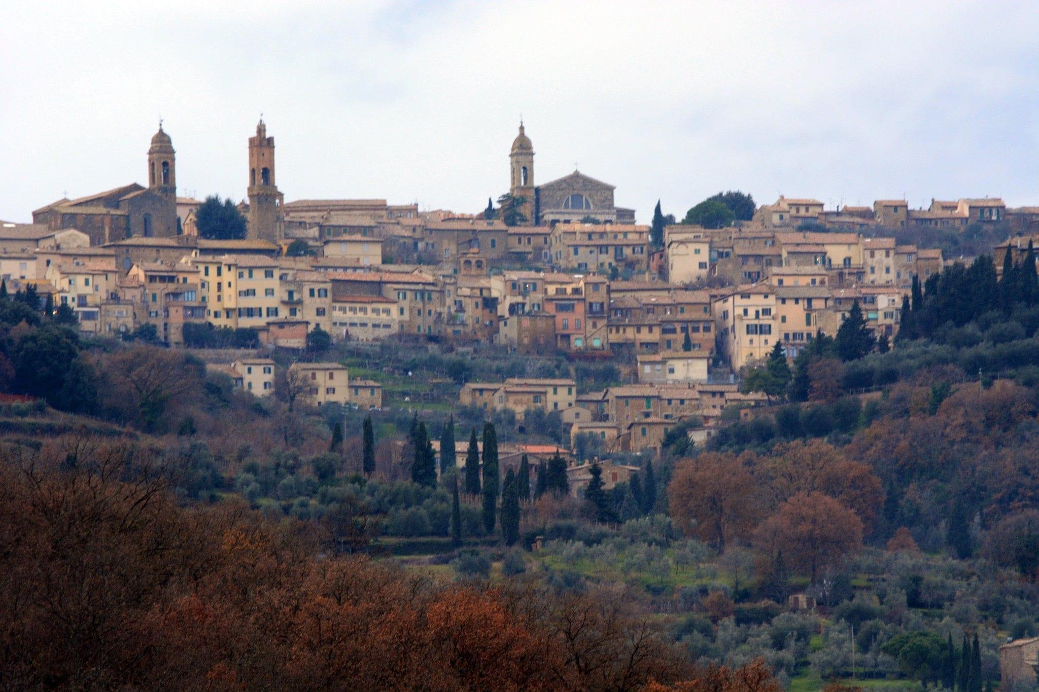 Montalcino village