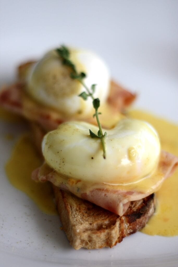 Egg's benedict. Mother's Day