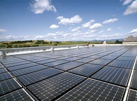Sustainability, solar panels, Domaine Carneros