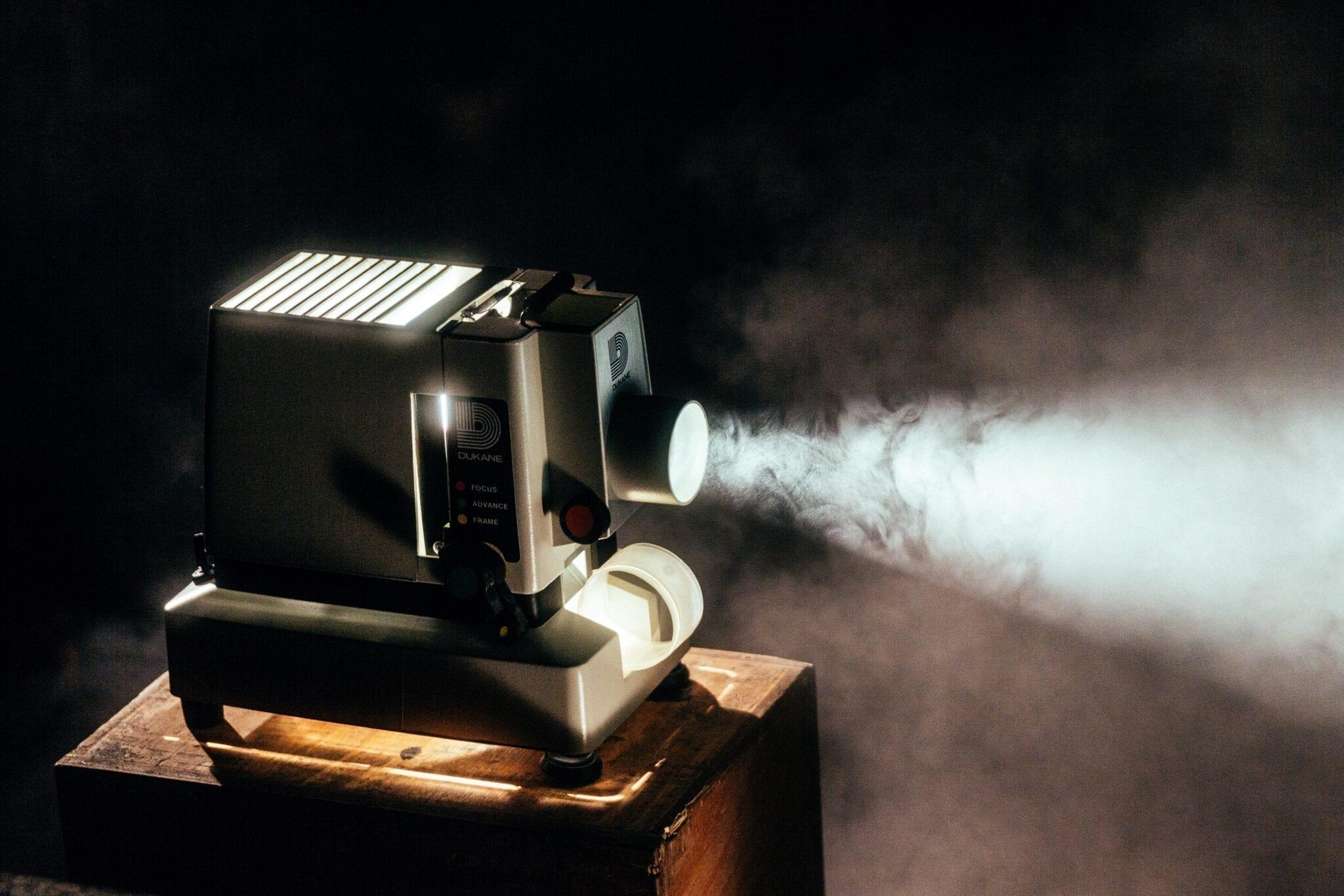Cinema, projector, image by Jeremy Yap, Unsplash