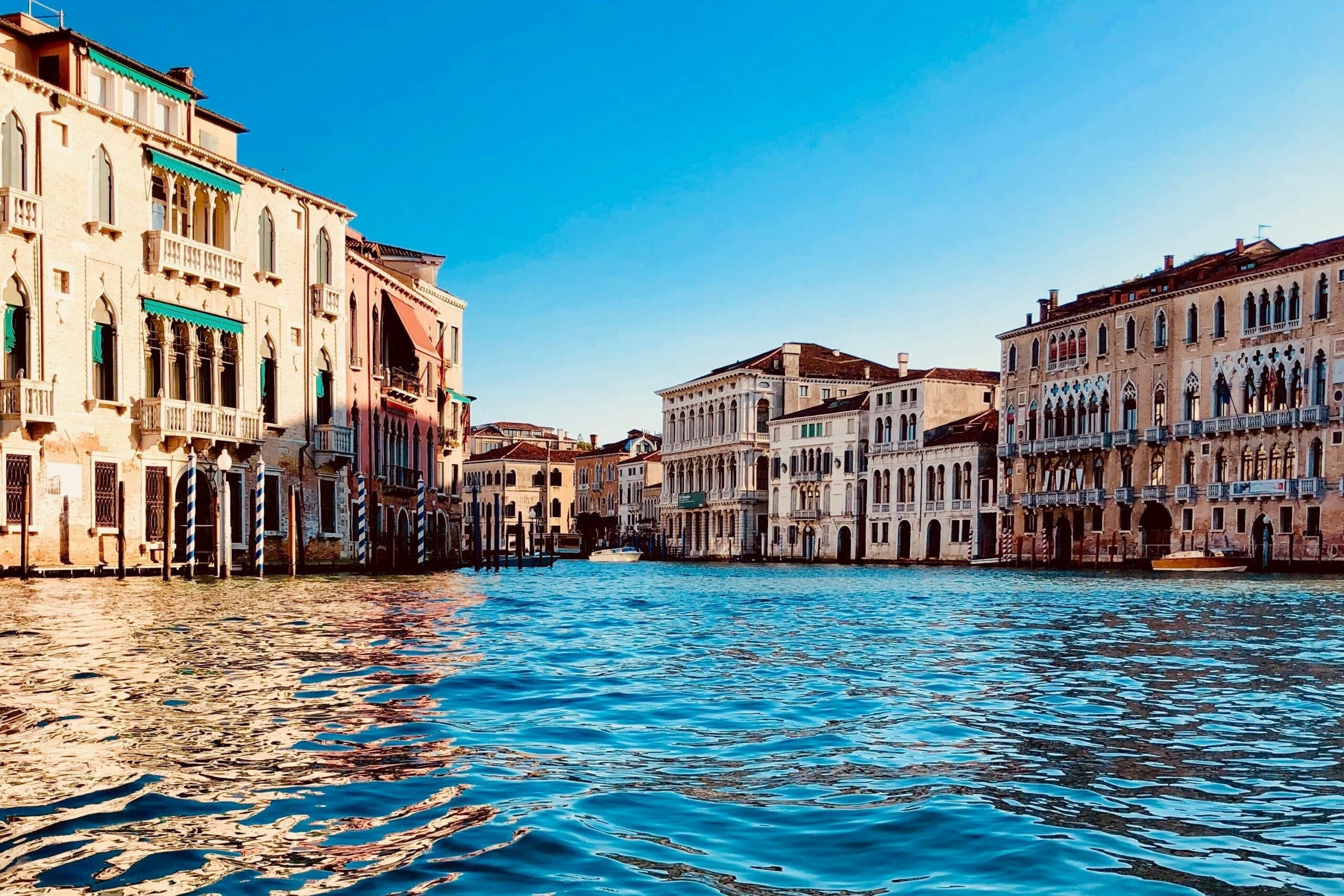 Venice clear waters