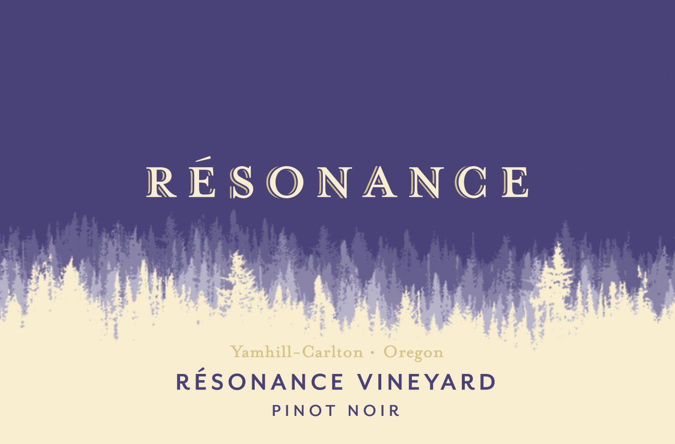 Label of Resonance Vineyard Pinot Noir