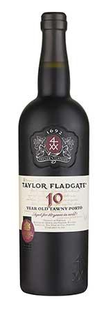 Taylor Fladgate 10-Year Tawny Port Wine Bottle