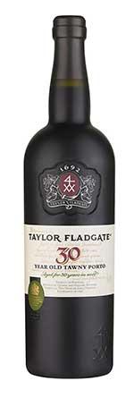 Taylor 30-Year Tawny Port Wine Bottle
