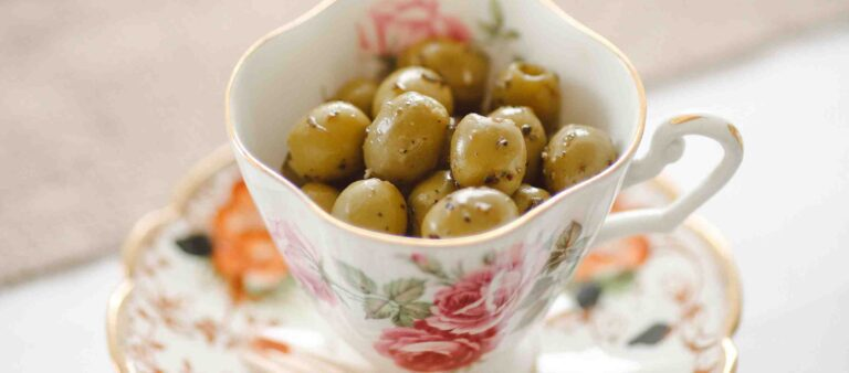 Olives in a Cup