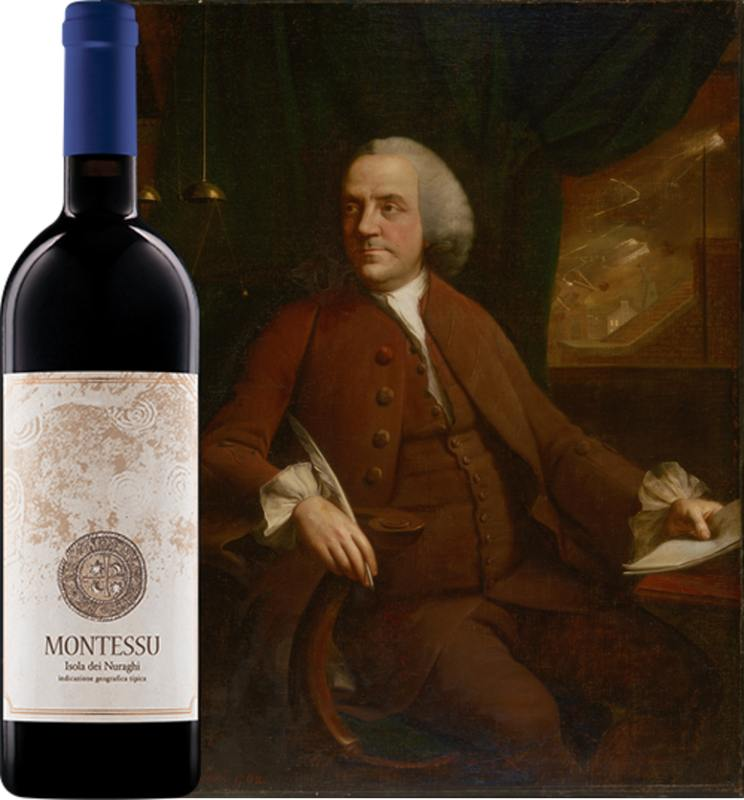 Benjamin Franklin and Agricola Punica Montessu (1)