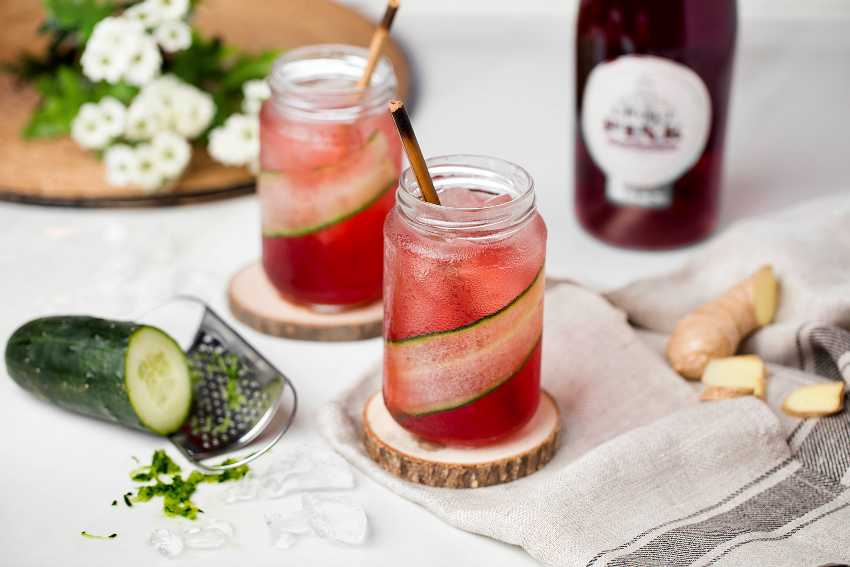 Croft Pink cocktail - Old Laughing Lady (2)