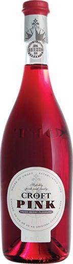 Croft pink port bottle