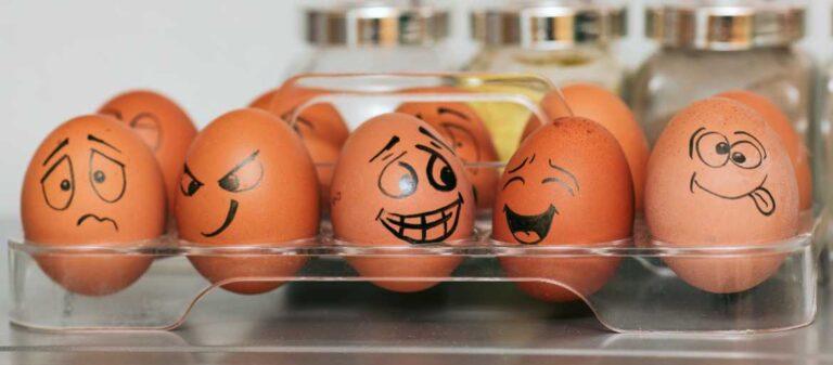 Funny Egg Faces, National Egg Day