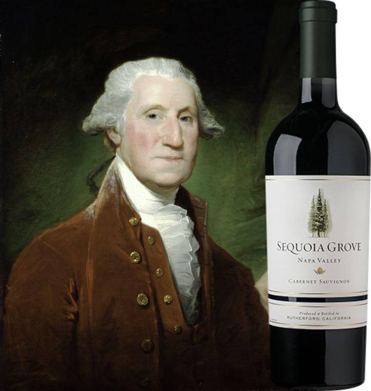 George Washington and Sequioa Grove Napa Valley Cabernet Sauvignon