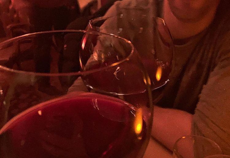 Red Wine Cheers for Best Friends Day