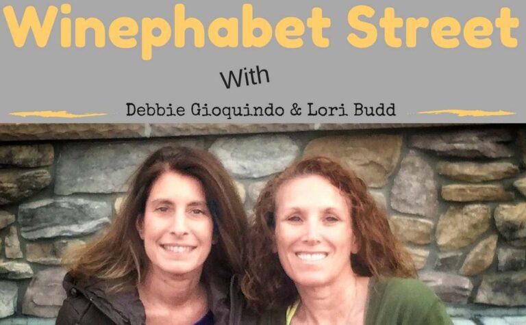 Winephabet Street Image of Debbie and Lori