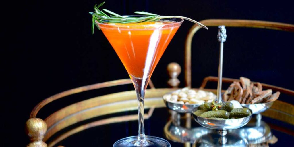G&A Martini cocktail