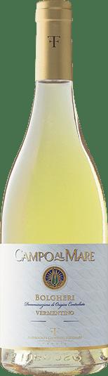 Vermentino wine bottle