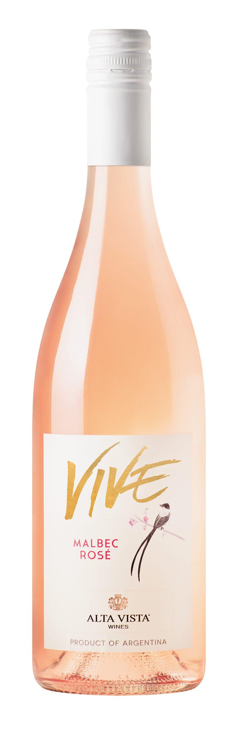 Bottle of Alta Vista Vive Rose