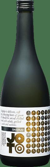 Joto Daiginjo sake bottle