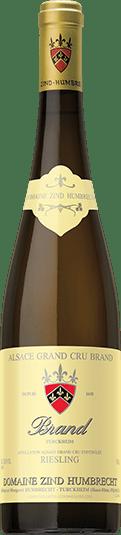 Domaine Zind-Humbrecht Riesling Brand Grand Cru bottle