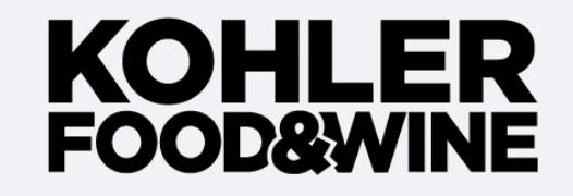 Kohler Food and Wine Logo