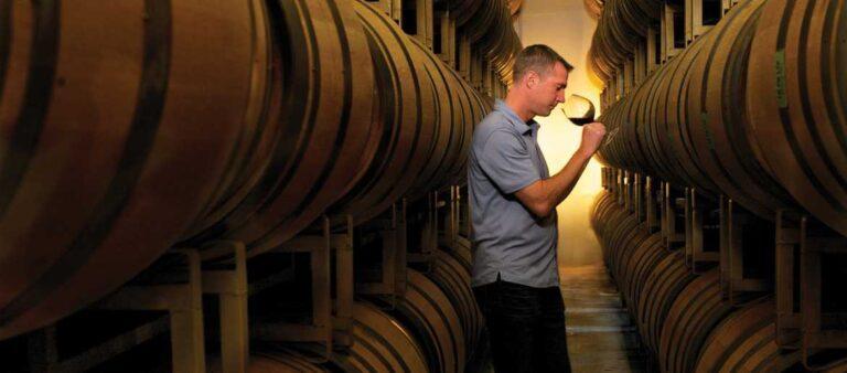 TJ Evans, winemaker of Domaine Carneros
