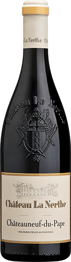 Châteauneuf-du-Pape Rouge, bottle of red wine