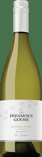 infamous goose wine bottle