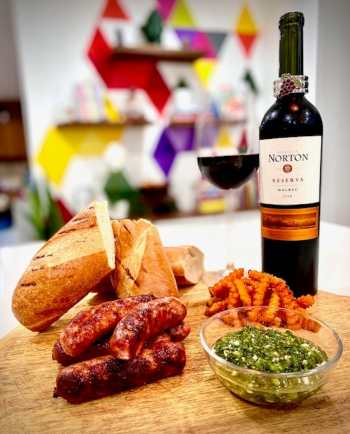 Argentinian food and Malbec wine 2