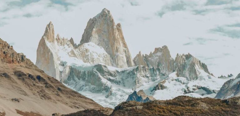 Andes mountains in Argentina