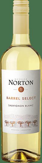 Bodega Norton Barrel Select Sauvignon blanc wine bottle