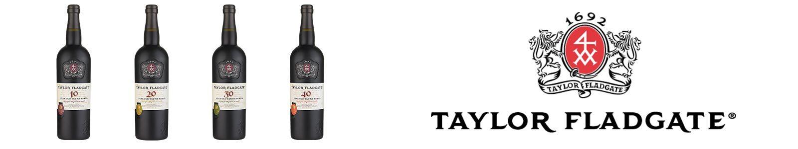 Taylor Fladgate Aged Tawny Port wine bottles